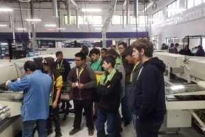 Students Tour Qualitel